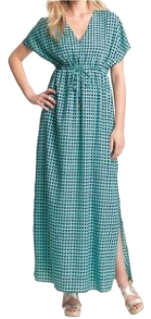 Dark Blue And Baby Blue. Maxi Dress by Michael Kors