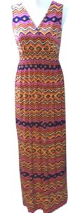Multi Color Maxi Dress by Mlle Gabrielle