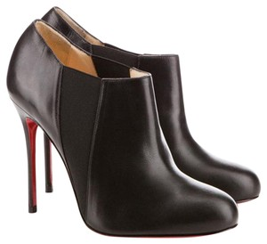 Christian Louboutin Bootie Leather Classic Brown Boots