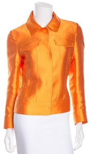 Escada Orange Sheen Jacket