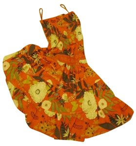 mULTI Floral Print Maxi Dress by She's Cool