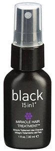 Black 15 in 1 BLACK 15 IN 1 Travel Size Miracle Hair Treatment 30 ml / 1 fl oz
