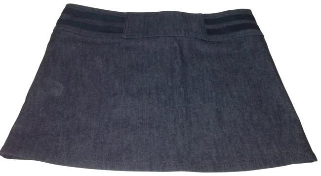 Burberry Denim Skirt Blue