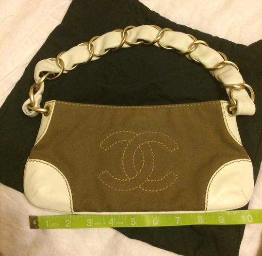 Chanel Chain Small Leather Vintage Rare Pochette Shoulder Bag