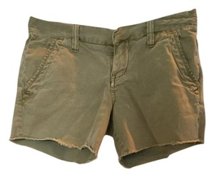 Hurley Beige Cut Off Shorts khaki