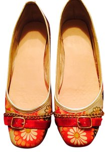 Steven by Steve Madden Red Multi-print Red, multi-color Flats