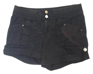INC International Concepts Cute Cargo Shorts black