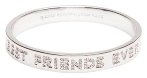 Kate Spade kate spade new york Silver-Tone Best Friends Ever Pave Bangle Bracelet