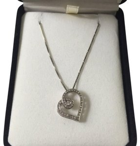 Kay Jewelers Diamond Heart Necklace