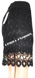 UPHILL FASHION Mini Skirt BLACK
