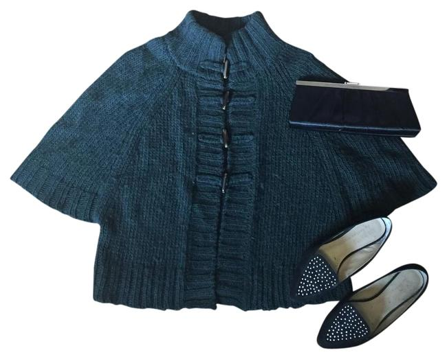Preload https://img-static.tradesy.com/item/15821542/ann-taylor-loft-dark-green-ponchocape-size-2-xs-0-1-650-650.jpg