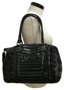 Anya Hindmarch Leather Handbag Plaited Sydney Shoulder Bag
