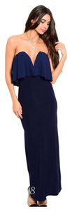 Navy Blue Maxi Dress by
