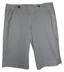 Tommy Hilfiger Striped Bermuda Shorts BLUE/WHITE