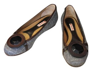 Marni Tweed Jewel Flats