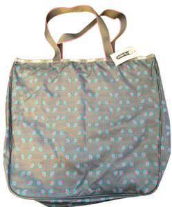 LeSportsac Gym Laptop Casul Tote in Grey