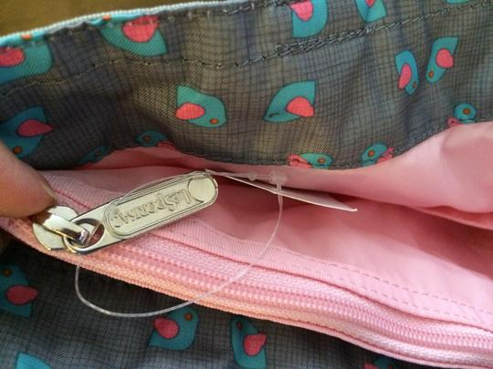 LeSportsac Gym Laptop Casul Shopping Tote in Grey