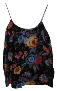 Tucker Floral Print Multicolor Top