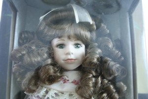 Genuine Porcelain Bisque Doll Vintage Genuine Porcelain Bisque Doll