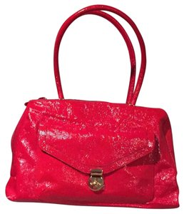 Goldenbleu Satchel in Red