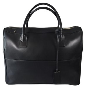 Saint Laurent Travel Weekend Satchel in Black