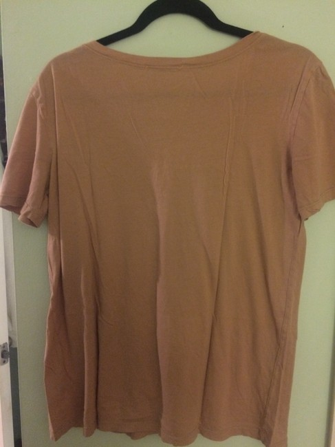 Truly Madly Deeply T Shirt tan, pink