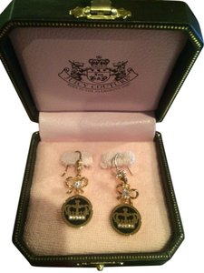 Juicy Couture Juicy Couture Crown Earrings