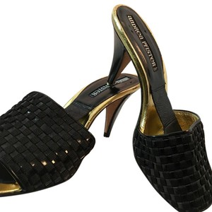 Andrea Pfister Couture Black Sandals