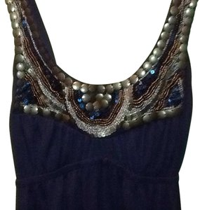 bailey blue short dress Navy blue on Tradesy
