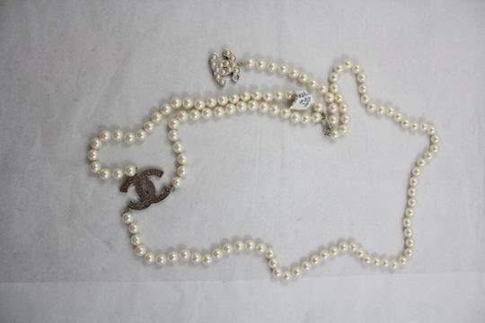 Chanel Chanel Pearl Belt And Necklace