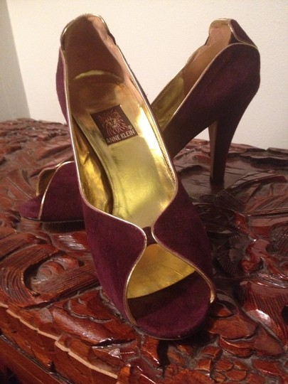 Anne Klein Deep Purple Pumps