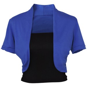 Other Short Sleeve Bolero Shrug w/ Tube Top. 2 separate pieces