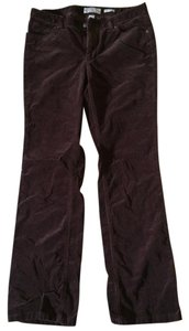 Calvin Klein Corduroy Wine Colored Cords Boot Cut Jeans-Dark Rinse