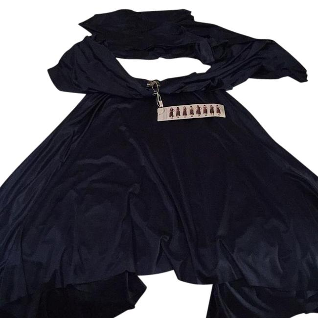 Item - Navy Blue High-low Formal Dress Size OS (one size)