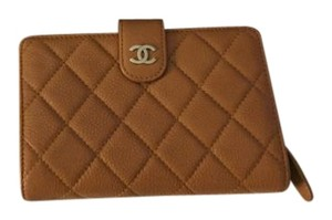 Chanel Authentic Chanel L Zip Pocket Wallet