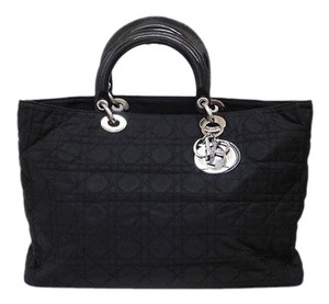Dior Christian Canvas Cd Tote