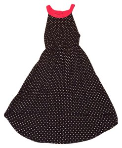 Anthropologie short dress Polka-Dot Hi Lo Flowy Vintage Retro on Tradesy