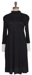 Joie short dress BLACK Mock Neck on Tradesy