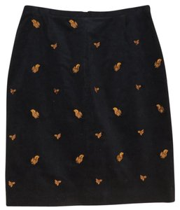 Brooks Brothers Pencil Skirt Navy Blue