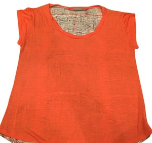 Olivia Moon T Shirt Orange