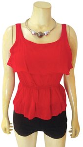 Papaya P2062 Size Small Top red black