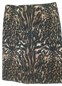 Talbots Skirt Black/Brown