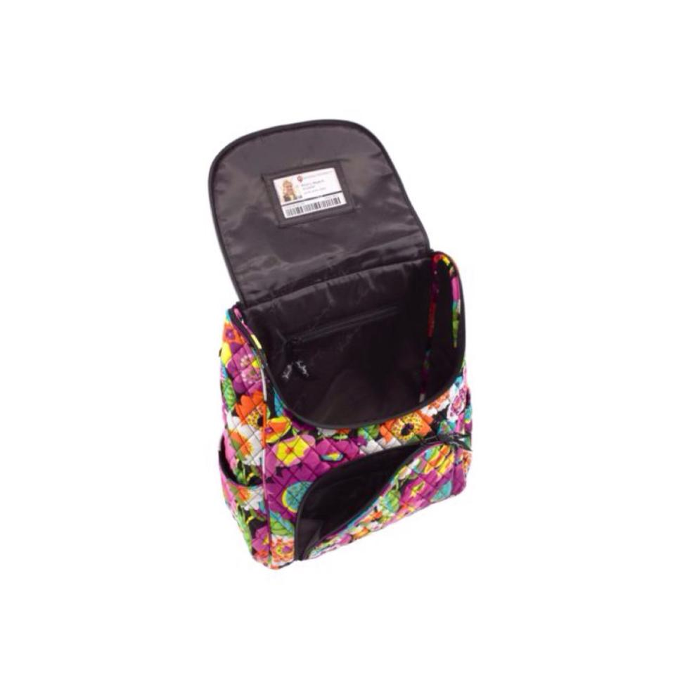 vera bradley va va bloom cotton double backpack tradesy. Black Bedroom Furniture Sets. Home Design Ideas