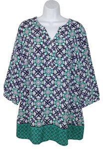 Christopher & Banks Printed Multi Tunic