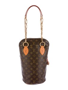 Louis Vuitton Lv Brown Karl Lagerfeld Shoulder Bag