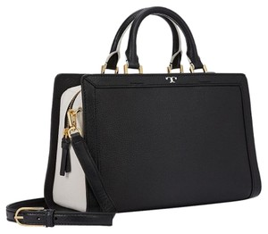 Tory Burch Satchel in Black/White