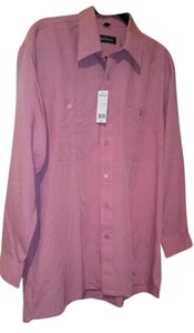 Oleg Cassini Button Down Shirt