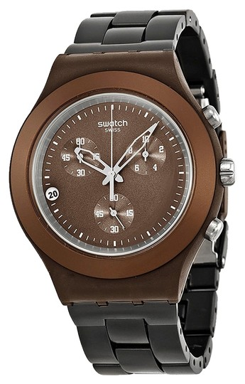 Swatch Swatch Unisex Full-Blooded Watch SVCC4000AG Brown Analog