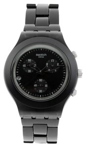 Swatch Swatch Unisex Full-Blooded Watch SVCF4000AG Black Analog