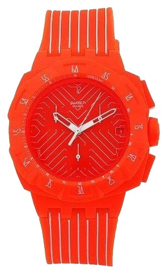 Swatch Swatch Female Dress Watch SUIO400 Orange Analog